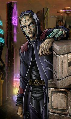 SW Zabrak Smuggler by Antman2012.deviantart.com on @deviantART