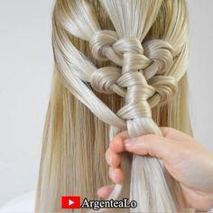 Cute Simple Hairstyles, Summer Hairstyles, Cute Hairstyles, Braided Hairstyles, Wedding Hairstyles, Long Hair Dos, Long Hair Video, Braids For Long Hair, Hair Ponytail Styles