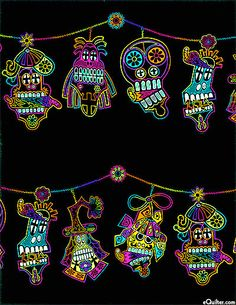 Mi Familia - Day Of The Dead Decorations - Multi US $10.95