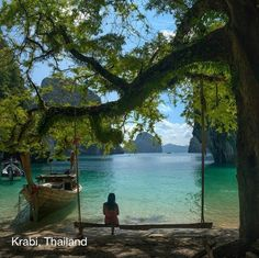 Travel Discover Peaceful Setting at Krabi Thailand. Can& wait to see Krabi. Places Around The World The Places Youll Go Places To See Dream Vacations Vacation Spots Exotic Places Belle Photo Beautiful World Beautiful Beach Places Around The World, Oh The Places You'll Go, Places To Travel, Places To Visit, Dream Vacations, Vacation Spots, Exotic Places, Belle Photo, Wonders Of The World