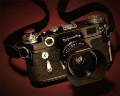 """365 Day 292: Camera Porn: """"Black Paint"""" Zorki 6 with a Voigtlander 35/2.5 Color Skopar """"C"""" Lens"""