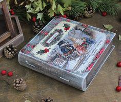 FOXWOOD TALES.Рождественские  подарки.Christmas Gifts Декупаж.Decoupage.