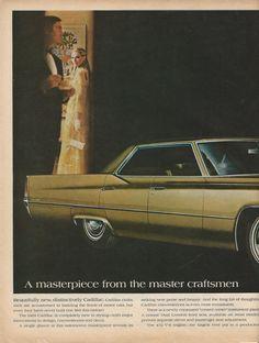 1969 Cadillac Automobile Original 1968 Vintage by VintageAdOrama, $12.95