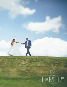 Let The Sun Shine Tom Halliday Photography - UK Wedding Photography - Bride - Groom - Country Wedding - Country House Wedding - Prested Hall - Landscape Photography