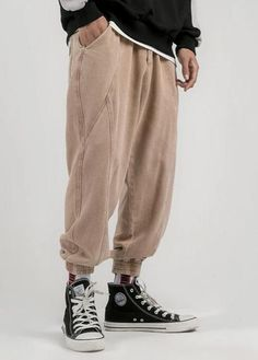 DescriptionMOO Loose Fit Cropped Pant Short MaterialElastic WaistSuitable for Islamic Clothing for MenWhen received the item will show Asian SizeEstimated Delivery from 10 to 21 days DetailsPant Style: StraightFront Style:. Urban Fashion, Men's Fashion, Fashion Outfits, Denim Pants, Trousers, Muslim Men, Islamic Clothing, Drop Crotch, Teenager Outfits