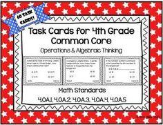 Teachers Pay Teachers Freebies, Teachers Aide, Fourth Grade Writing, Third Grade Math, Maths Algebra, Math Test, Math Rotations, Math Centers, Elementary Math