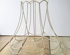 Copper wire lampshade frame vintage industrial light pendant image result for white skeleton wire lampshade uk greentooth Choice Image