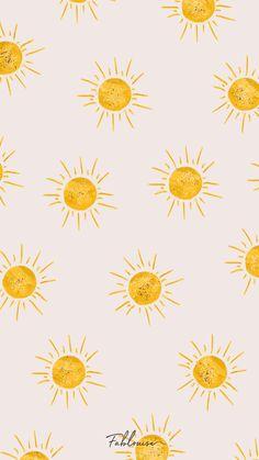Flower Background Wallpaper, Cute Wallpaper Backgrounds, Wallpaper Iphone Cute, Pretty Wallpapers, Aesthetic Iphone Wallpaper, Aesthetic Wallpapers, Flower Backround, Sun Background, Paint Background