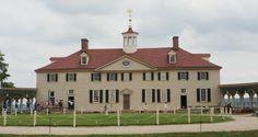 George Washington's Mansion in Mount Vernon