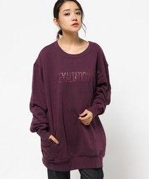MOUSSY | EXALTATION SWEAT POJ(Tシャツ・カットソー)