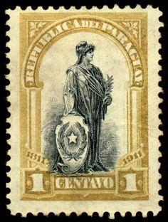 Description US stamp 1898 4c Indian Hunting Buffalo.jpg