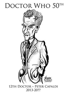 Doctor Who 12th Doctor Peter Capaldi by SouthParkTaoist @deviantart #doctorwho #petercapaldi