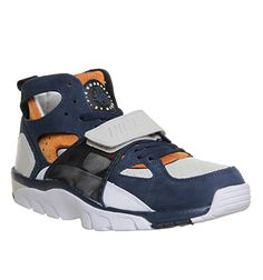 Nike Air Trainer Huarache Light Bone Mid Navy Ginger - His trainers