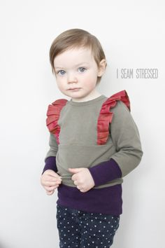 i seam stressed: The Little Betty Top // Pattern Tour
