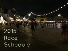 2015 Race Schedule and TotR linkup!