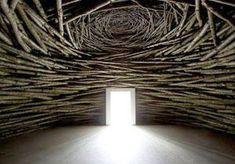 Andy Goldsworthy // Wood Room