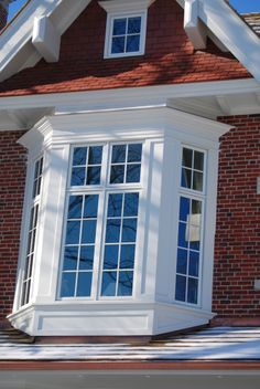 Exterior Trim Roof boxed out windows, bay window, dormers, window cladding, exterior