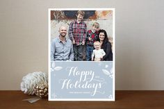 Simply Sweet Holiday Photo Cards by lena barakat at minted.com
