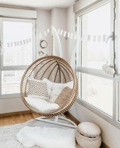 The are back and hitting close to home with a resurgence of rattan, shag, and more. Get inspiration for your space from this iconic decade. 70s Home Decor, Home Decor Trends, Home Decor Bedroom, Home Decor Items, Wicker Chairs, Rattan Furniture, Inexpensive Home Decor, Cheap Home Decor, Bohemian Chic Decor