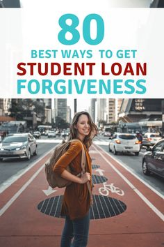 We break down a full list of over 50 different ways to get student loan forgiveness, from repayment plans, to loan forgiveness, to student loan repayment assistance programs. via student loans 80 Different Ways To Get Student Loan Forgiveness Apply For Student Loans, Private Student Loan, Federal Student Loans, Paying Off Student Loans, Student Loan Relief, School Loans, Student Loan Repayment, Best Payday Loans, Student Loan Forgiveness
