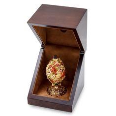 Originální klenot na téma Podzim se zlatou uncovou mincí 50 NZD Gustav Fabergé proof | Česká mincovna