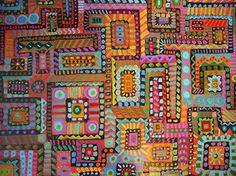 gorgeous floorcloth