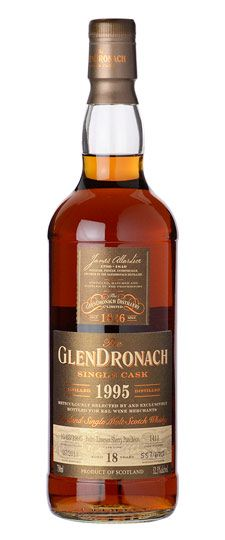 1995 Glendronach 18  Year Old K&L Exclusive Single PX Barrel Cask Strength Single Malt Whisky 750ml
