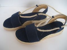 HANDMADE ESPADRILLES SANDALS by tuto on Etsy