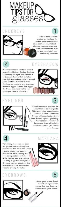 But while wearing lenses is simply an added bonus to anyone's overall aesthetic, the struggle of being a glasses-wearer is still pretty real. One of those issues? Taking the time to put on makeup and then having it suddenly disappear behind your frames. SO. ANNOYING! But never fear — as per youge, our ever-trusty hacks are here to save the day!