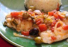 9 Formas de cocinar pescado blanco con sabor mexicano: Pescado a la veracruzana