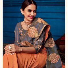 Saree Blouse, Sari, Saree Shopping, Embroidery Saree, Lace Border, Work Blouse, Bollywood Celebrities, Sarees Online, Daily Wear
