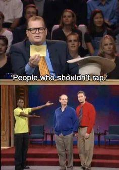 People who shouldn't rap