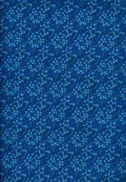Tecido Galhos  azul marinho