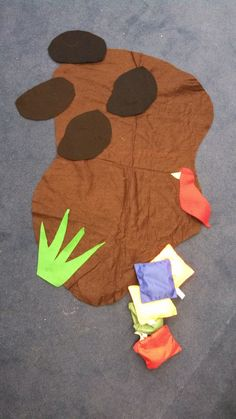 Parable of the Sower Game Directions: Lay the felt pieces on the ground reminding the children of the different places seeds landed: black rocks, green weeds, brown good soil and a red bird. Take turns tossing the bean bag seeds, trying to land on the brown good soil. Prayer:  God, Thank you for the stories Jesus told. Let our hearts be like the good soil. Let your love grow and grow and grow inside of us. Amen.