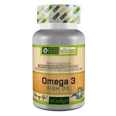 HERBioticum Omega3 Fish Oil Omega 3 Fish Oil, Supreme, Vitamins, Herbs, Organic, Food, Minerals, Essen, Herb
