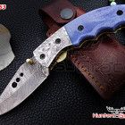We manufacture high quality Damascus custom handmade knives and chef sets.