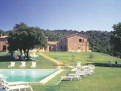 Pool at Castello di  Modanella