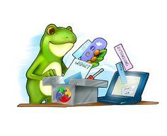 Froggy c'est aussi la conception et l'optimisation de vos sites internet avec le logiciel Wordpress Site Internet, Wordpress, Family Guy, Fictional Characters, Software, Fantasy Characters, Griffins