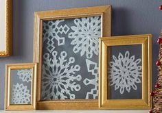 Snowflake Frame Tutorial