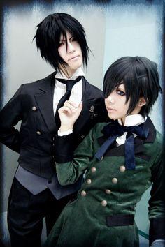 | Ciel & Sebastian Cosplay - Kuroshitsuji Photo (33604688) - Fanpop ...