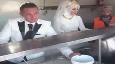Turkish couple spends the money their families had saved up for wedding celebrations to feed 4,000 Syrian refugees instead: http://cbc.sh/6dELvRB