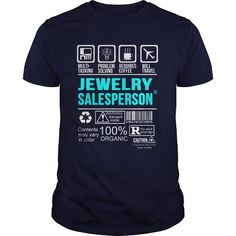 JEWELRY SALESPERSON T Shirts, Hoodie. Shopping Online Now ==►…