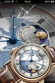 Free Breguet #Watches? WHAT?!? Ah... on #iPad and #iPhone :)
