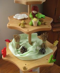 Nature Table - Festivity Stand- I always love the idea of a nature table. I usually have one in my classroom.