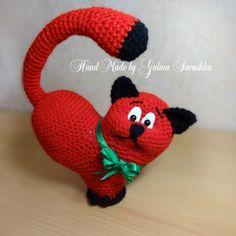 Crochet Cat Amigurumi Cat gift for her  crochet by SavushkaDesigns
