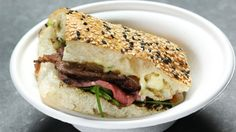 Ultimate Steak Sandwich with Caramelized Onions and Herb Mayo