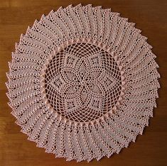 Ravelry: Stunning pattern by Patricia Kristoffersen Crochet Dollies, Crochet Doily Patterns, Crochet Circles, Crochet Round, Crochet Art, Vintage Crochet, Thread Crochet, Filet Crochet, Crochet Motif