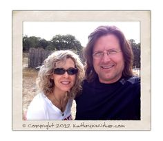 The (very!) lovely Miss KCW and me in Marble Falls in The Republic of Texas. Gooooood day! :~) | RonaldWilsher.com