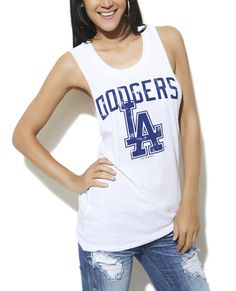 LA Dodgers Tank from Wet Seal b148e4aef77