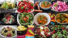Trying to eat healthy? Here are 12 vibrant salad recipes to help you achieve your goad. Enjoy!